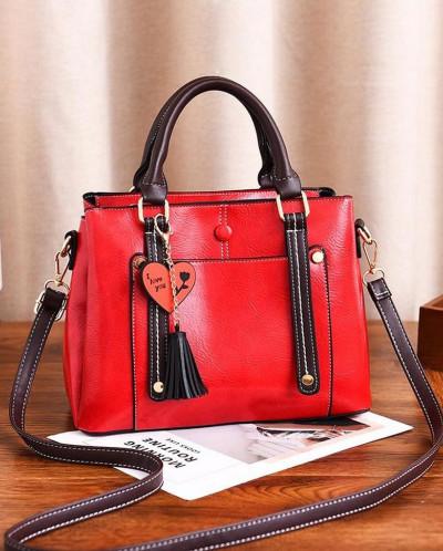Женская сумка 6548-3 Red Wine