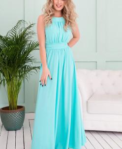 Платье Амелия сочная мята (П-36-5)