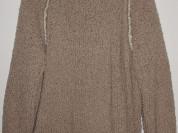 Свитер женский очень теплый шерсть букле р. 56-58