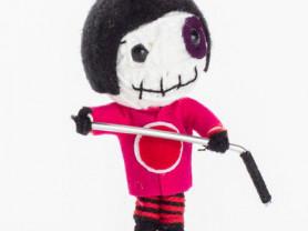 Буллит - кукла, талисман, ручная работа