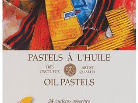 Набор масляной пастели L'huile OIL pastels, 24