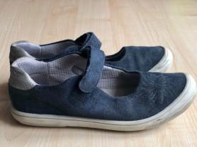 Туфельки синие Richter р.31