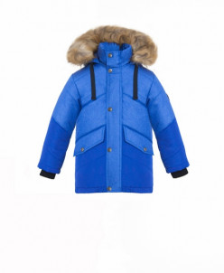 Куртка пуховая с натуральным мехом Talvi