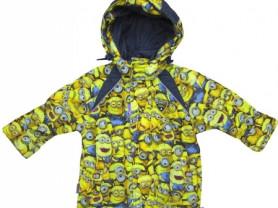 Куртка с миньонами осенняя