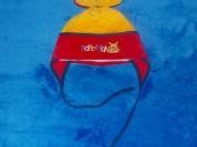 Шапка велюровая, утепленная, ОГ 46-48 см