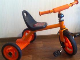 Велосипед трех колёсный