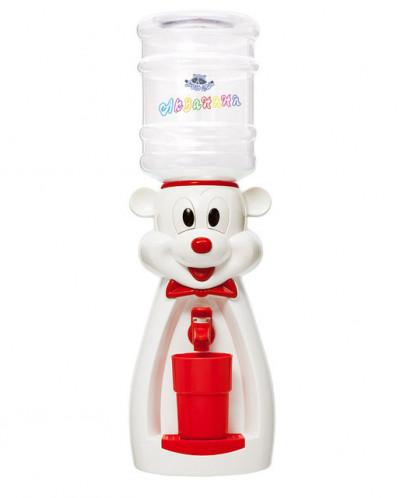 Детский кулер для воды мышка белая Акваняня