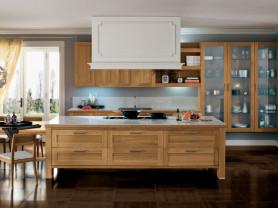 Изготовление кухни из массива дерева на заказ