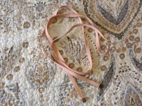 Ремень шнурок новый коричневый