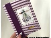 Обложка для паспорта Скрапбукинг Ручная работа