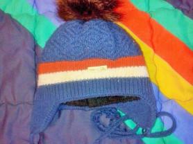 Зимняя шапка 3-4 года