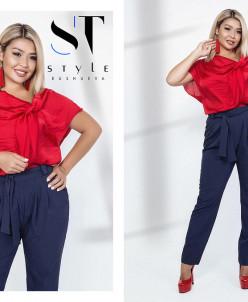 Костюм 37356(блузка+брюки)