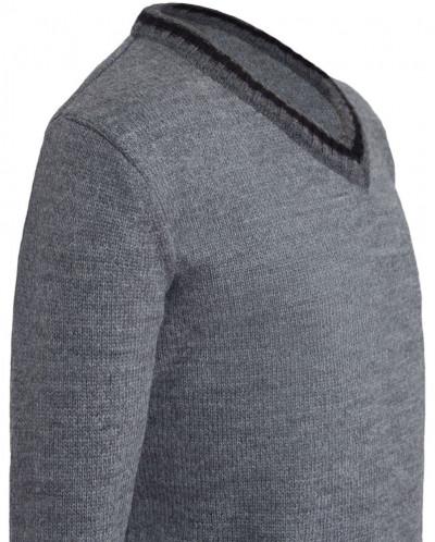 Пуловер Сириус серый
