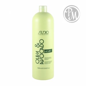 Kapous olive and avocado бальзам увлажняющий для волос 1000м