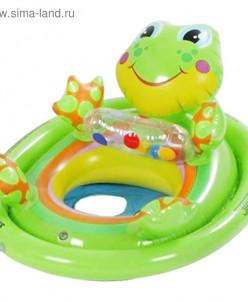 Круг для плавания с сиденьем «Зверюшки», от 3 до 4 лет, МИКС
