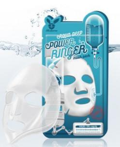 [Elizavecca] Тканевая маска д/лица Увлажняющая AQUA  DEEP PO