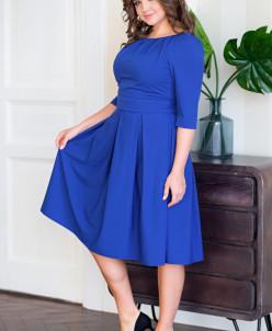 Платье Ольга цвет синий (Пб-100-7)