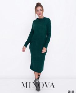 Платье №5071.18-Зеленый