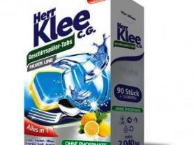 Таблетки для посудомойки Herr Klee C.G, 102 штуки.