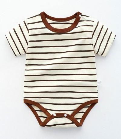 """Боди Baby Expert """"Lines"""" коричневое"""
