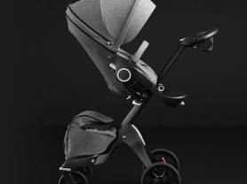 Детская коляска Stokke Xplory V5 Black Melange
