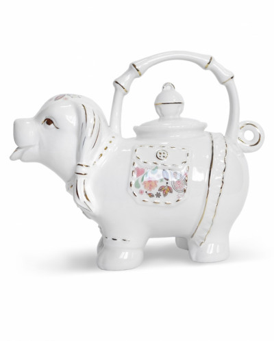 """АКЦИЯ!!! Чай Хайтон в керамическом чайнике """"Леди"""" 80 гр."""