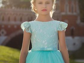 детские праздничные платья в пол