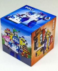 """Кубик Рубика """"Поли"""" 5,5х5,5см"""