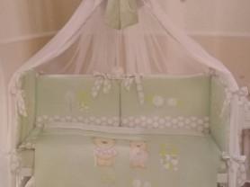 Бортики + комплект в детскую кроватку