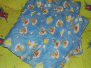Новое детское одеяло на овечьей шерсти, сверху хло