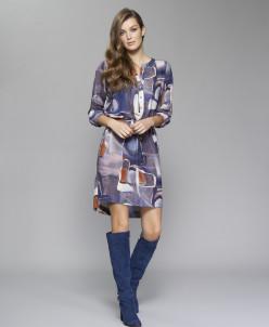 ZAPS - Осень-Зима 17-18 BLANCA Платье 025