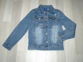 Джинсовая курточка р 134