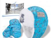 "Комплект ""Шапка (Ушанка) + рукавицы(Краги) новый"