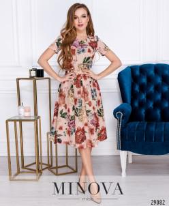 Платье №3117-Пудра