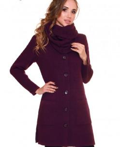 Пальто со снудом Алегро М-0542