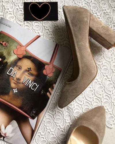 Замшевые элегантные туфли. Новая коллекция!