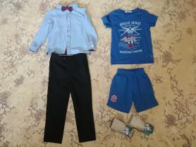 Вещи для мальчика р.104-110