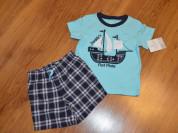 Комплект футболка и шорты carters 2-3 года