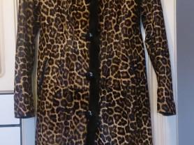 Пальто, мех пони с норк.опушкой + подарок куртка