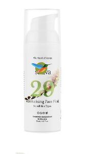 Крем флюид для лица увлажняющий №29 для всех типов ко SATIVA