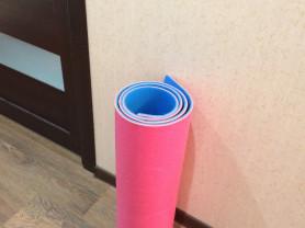 коврик для занятий спортом, пилатесом, йогой
