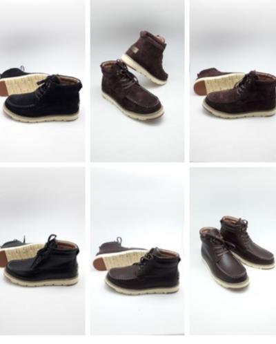 мужские ботинки р 41-46 цвет черный, серый, коричневый