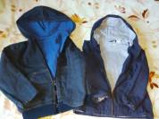 Две куртки ветровки р.110/116 ( при покупке пакето