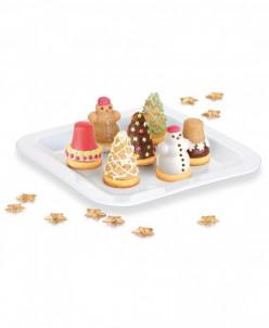 Формочки для печенья с начинкой DELICIA, 3 рождественских фо