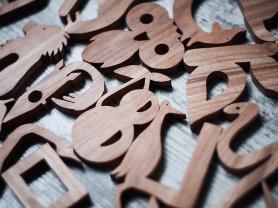 Деревянный алфавит. Вальфдорфская живая азбука