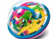 Логический шар-лабиринт, 3D головоломка, 100 шагов