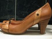 Новые туфли YKX&Co Италия р. 38 кожа на коже