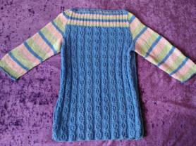 Вязаный пуловер, р.М