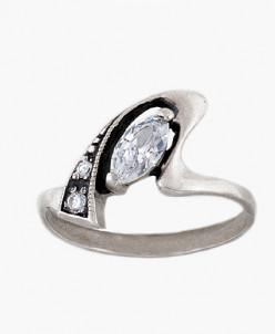Кольцо из серебра Весна Юмила