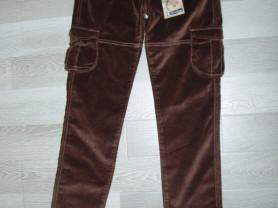 Новые бархатные брюки Италия